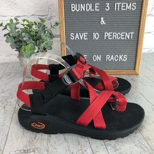 Chaco Z/Cloud 2 Red Size 7 Sport Sandal  1310